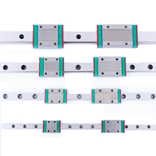 3pcs mgn12 linear rail L1000mm + 3pcs MGN12H or MGN12C block 12mm for MCNC X Y Z Axis 3d printer part TWO BLOCKS EACH RAIL