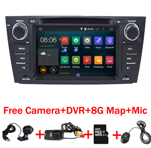 imágenes para Quad Core 1024*600 Pantalla Táctil de Coches Stereo para BMW E90 Android 7.1 E91 Wifi 3G GPS Bluetooth de Radio DVD SD Canbus Libre mapa + DVR