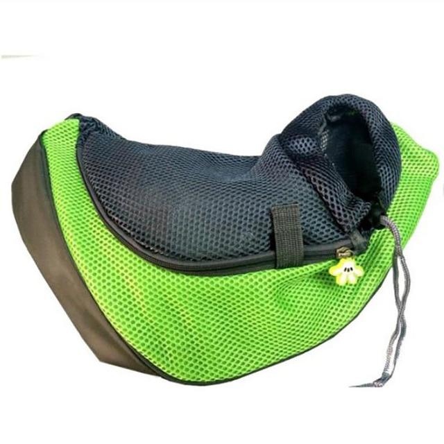 Pet Carrier Cat Puppy Small Animal Dog Carrier Sling Front Mesh Travel Tote Shoulder Bag Backpack SL65 3
