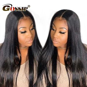 13x6 Lace Front Wig Remy Human Hair Wigs Straight Lace Front Human Hair Wigs For Black Women Can 13x4 Lace Frontal Closure Wig