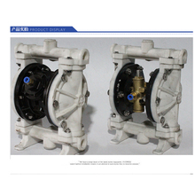 PP Material PTFE Plastic Air operated Pneumatic diaphragm pump QBY-15 цена 2017