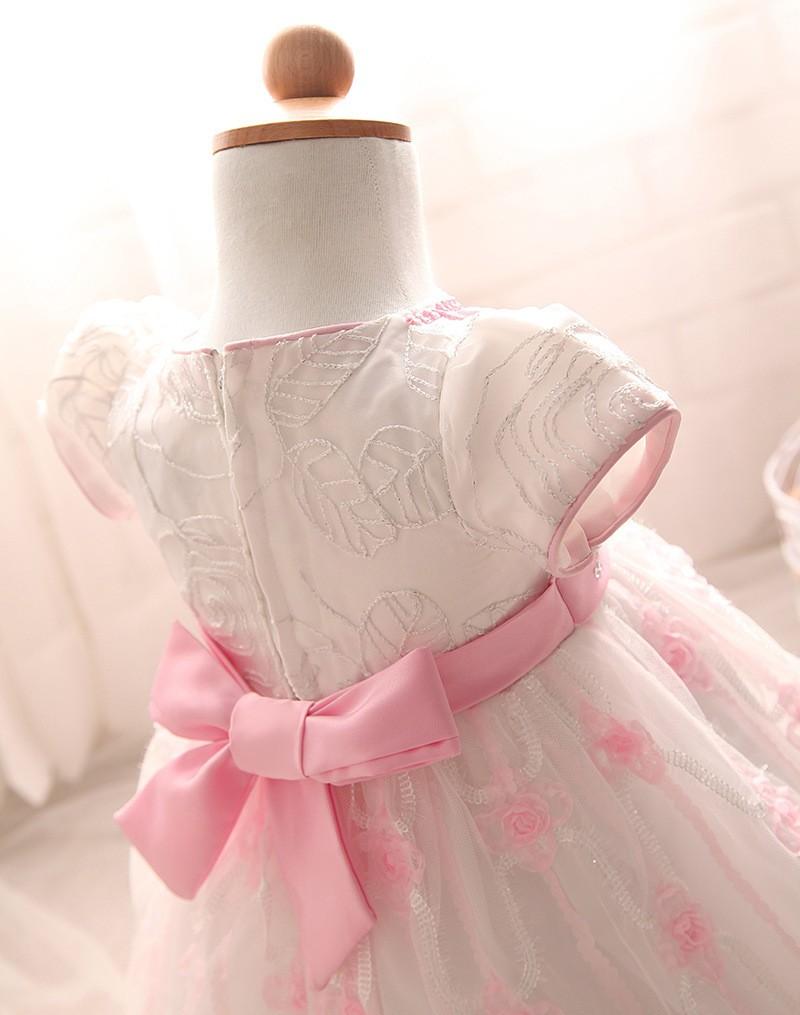 Newborn Birthday Dress (9)