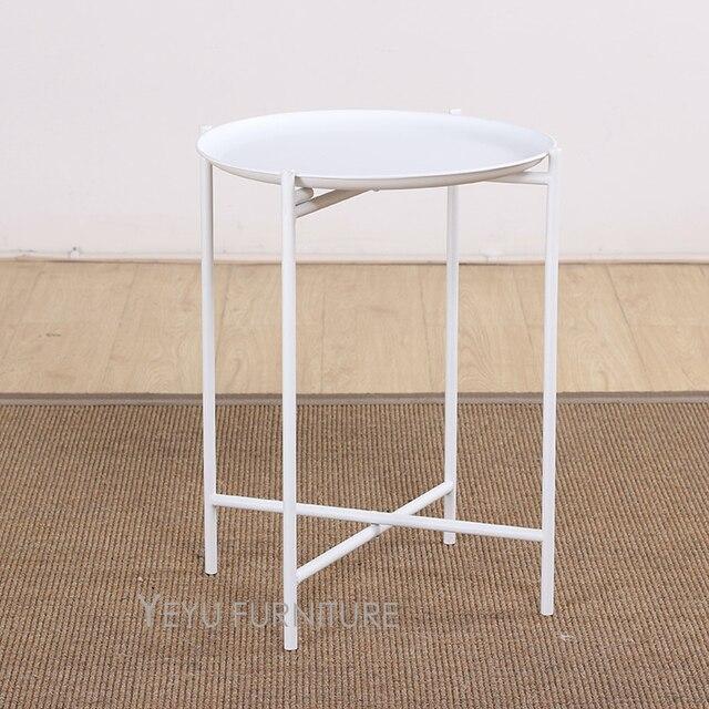 Minimalist Modern Design Loft Style Tray Side Table, Loft Design Metal Side  Table, Tea