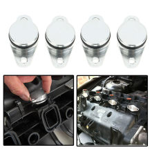 4 X 22MM For BMW Diesel Eddy Damper Baffle Without Intake Manifold Washer cay styling dropshipping(China)