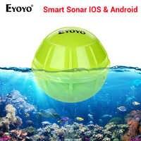 Eyoyo E1 рыболокатор, локатор для рыбалки, Bluetooth, беспроводной, глубина, умный, для ловли, для обнаружения, эхолот, более глубокий, рыболокатор, IOS,...