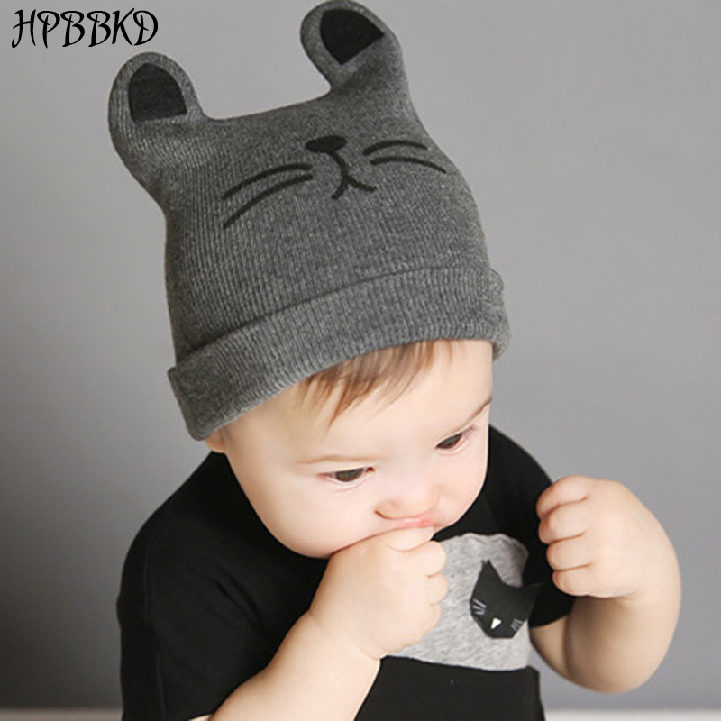 HPBBKD 0-12months Baby Hat Cotton Beanie Cap Toddler Infant Baby Girls And Boys Knitted Hats Kids Hats & Caps Baby Cap GH119