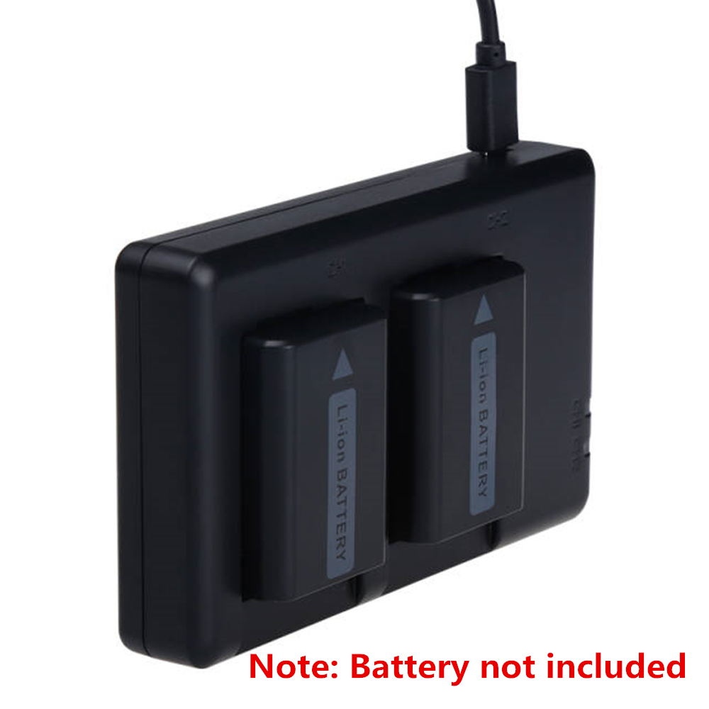 NP-FW50 NPFW50 Lithium Batteries Pack Charger/Two Seat NP FW50 Digital Camera Charger FW50 For Sony A7R A7S A3000 A6300 A6500