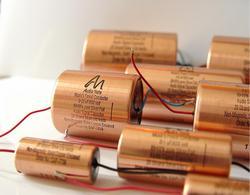 Original Reino Unido Audio Note 0,01 uf-3,3 uf 600 volt plata lámina aceite inmersión capacitor con envío gratis