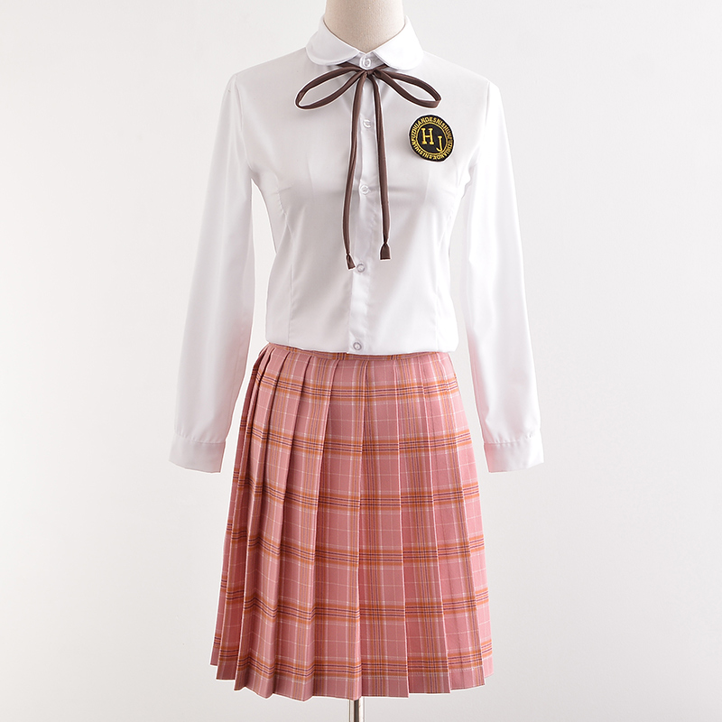 UPHYD School Uniform Design Online Shop Top+Plaid Skirt+Tie School Girls Sailor Suits Halloween Anime Cosplay Outfits