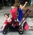 Los gemelos cochecito de bebé puede sentarse puede mentir niños bebés cesta