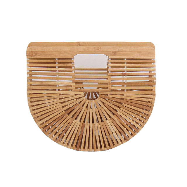 Женская летняя пляжная сумка Bamboo ткань сумочка Роскошные дизайнерские женские сумка женская свежий соломенные сумки Bolso SS0274