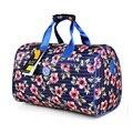 Bagagem & sacos de Moda de Grande Capacidade Sacos de Viagem Bolsa Floral Impressão Mulheres/Homens Viajam Sacos de Tote Duffle Saco Da Bagagem 5 Cores