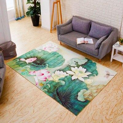 Peluche douce Shaggy Alfombras tapis pour salon fausse fourrure ovale grand tapis pour chambre 200*300 CM antidérapant tapis de sol maison - 5