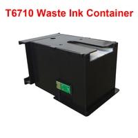 1PK Für T6710 Abfall Tinte Behälter Mit Chip Einsatz Für WorkForce WF 7110 Tintenstrahldrucker 3620 3640 3641 7111 7610 7620 7621 PX M5040|t6710|container forcontainer 40 -