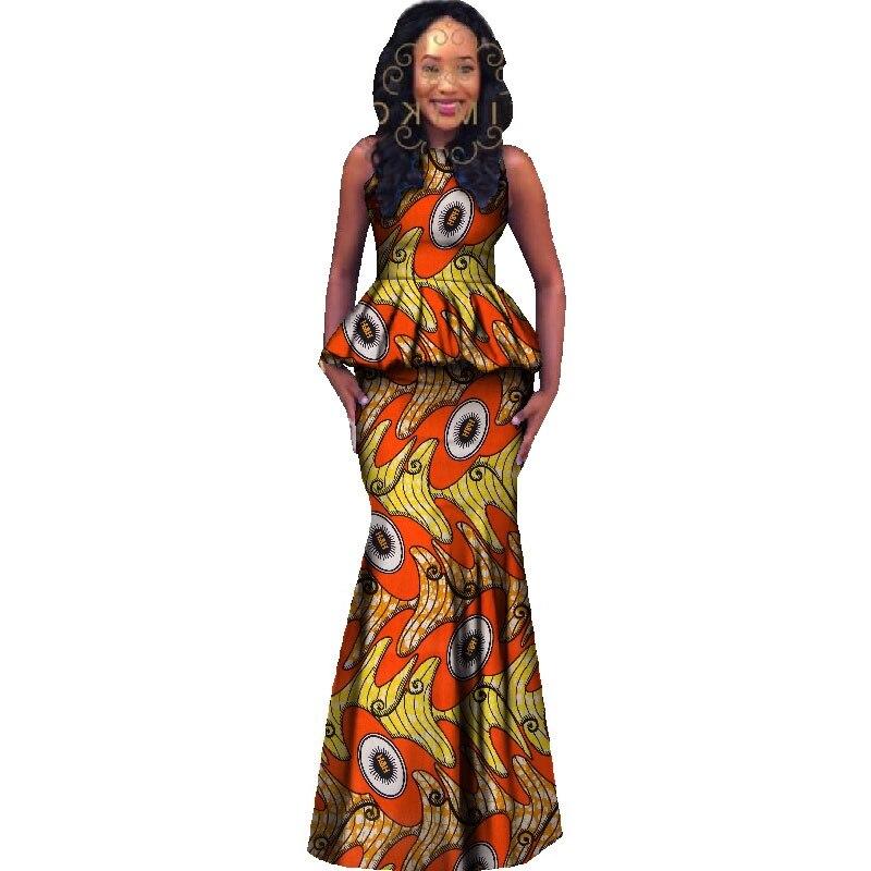 6e24c03d8e Comprar África Conjunto Dashiki Estilo Saia Das Mulheres Plus Size ...