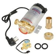 220V pompa wody 100W pompa doładowania automatyczna pompa automatyczna ze stali nierdzewnej Auto Boost dla woda z kranu pompa doładowania rurociągu bomba