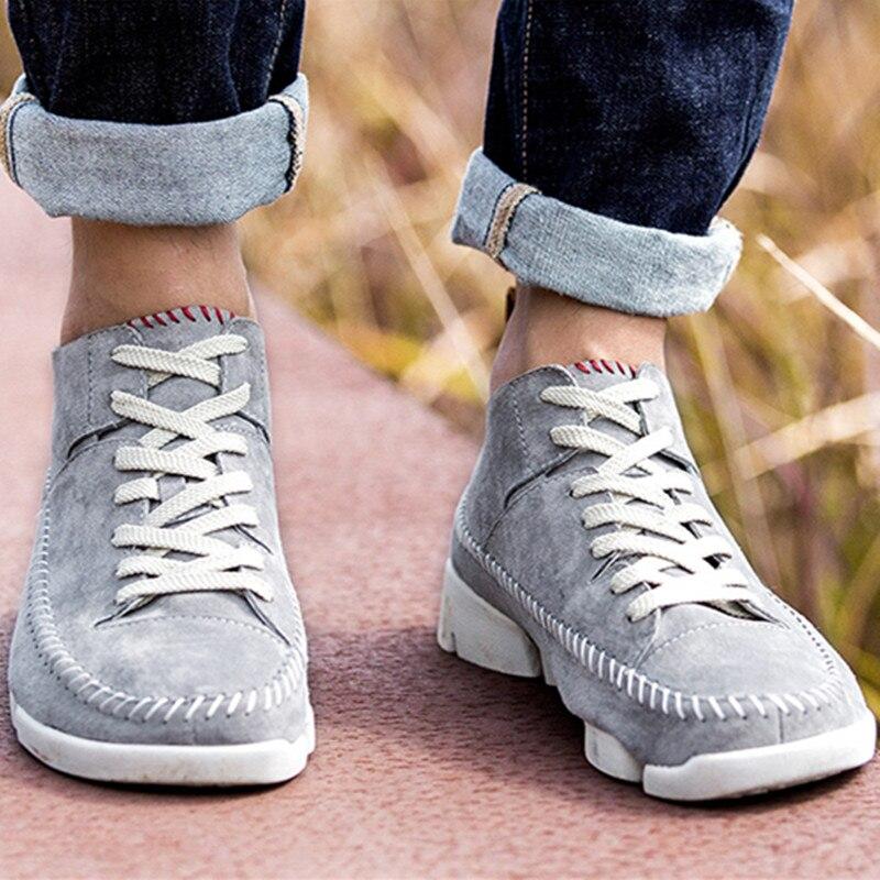 Calçado Dedo Macio Qualidade Gao Sneakers Redondo Pé Moda Alta Preto cinza azul Casuais Lona Respirável Confortáveis Da Sapatos Do verde Homens Plano De Estrondo qvznFA7wE
