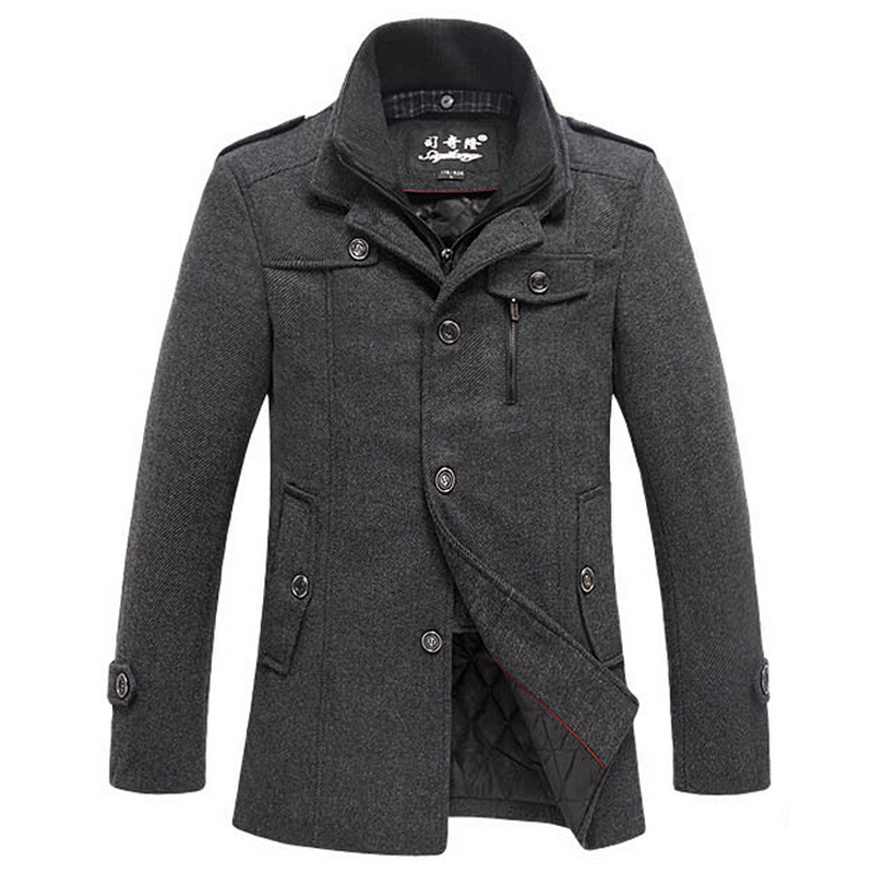Love this coat. Will be perfect for Winter as quite thick. Very pretty and looks lovely on. Gorgeous Lapel Long Sleeves Double Breasted Solid Color Good Cut Bowtie Cuff Decorated Woolen Blend Pea Coat For Women.