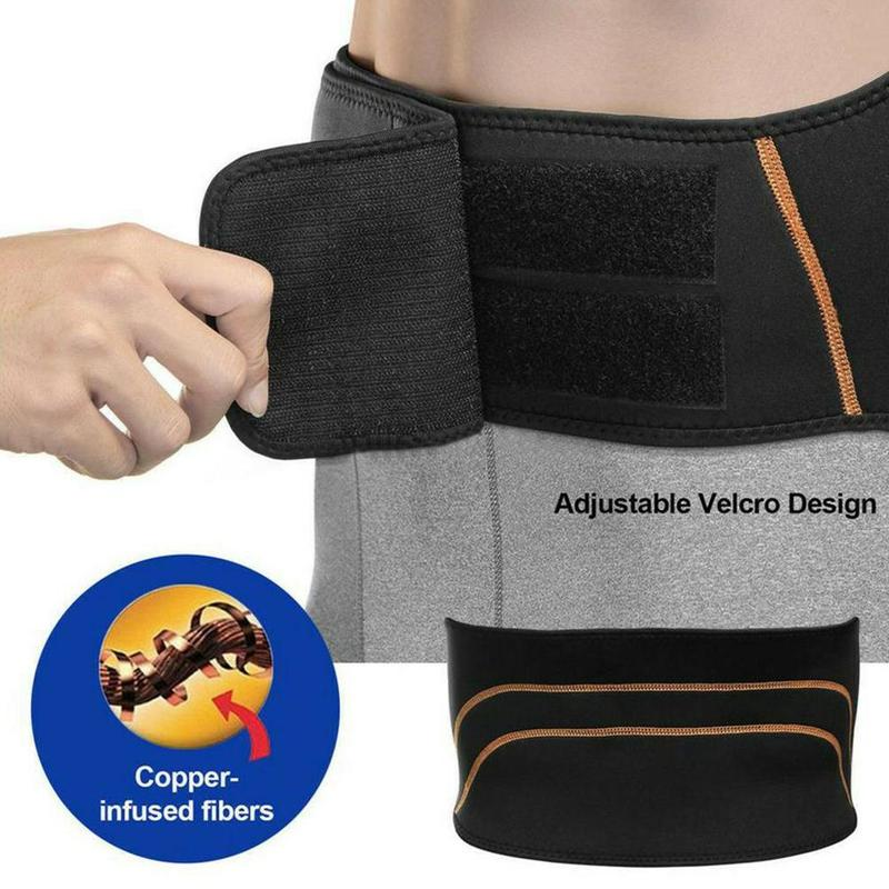 Copper Fit Back Pro Compression Lower Lumbar Back Brace Belt for Men/WomenCopper Fit Back Pro Compression Lower Lumbar Back Brace Belt for Men/Women