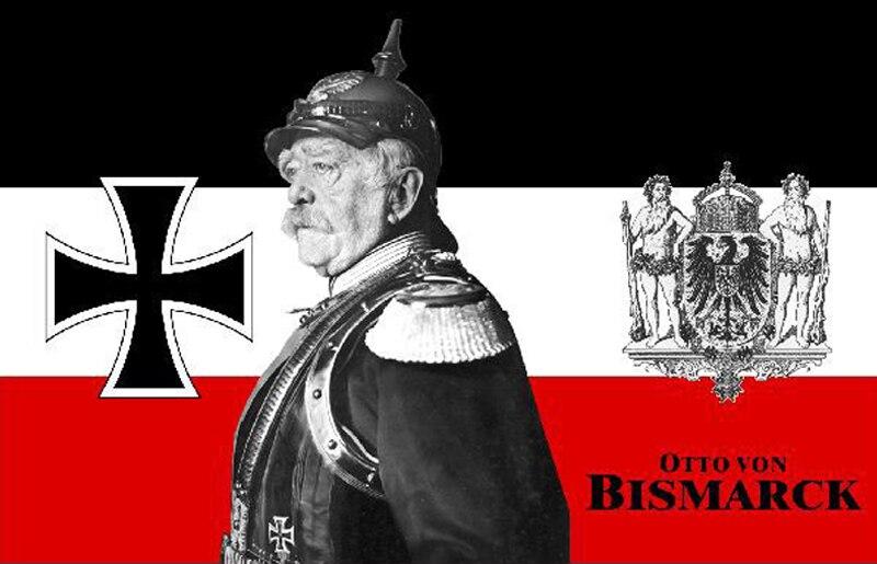 Pin Otto von Bismarck 3 x 2,5 cm