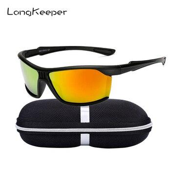a536bf3a2f Hoe venta espejo polarizado Gafas de sol con el caso de las mujeres  cuadrado antideslumbrante conducción Gafas Retro UV400 Gafas de sol 1023