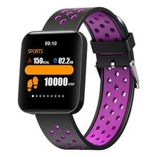 S88 Smart Watch HD Color Screen Smart Watch Blood Pressure Heart Rate Sleep Tracker Fitness Smartwatch барбакадзе а ред все о дорожных знаках и разметке на 2017 год