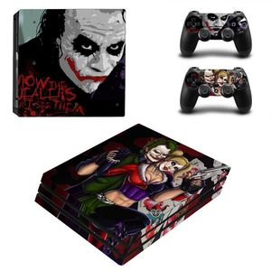 Image 2 - Joker Man Design Skin Sticker For Sony Playstation 4 Pro Console & 2PCS Controller Skin Decal For PS4 Pro Game Accessories