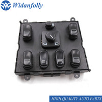 Widanfolly Power Window Switch for ML320 W163 ML400 ML430 ML500 1998 2005 A1638206610 1638206610 163 820 6610 66 10