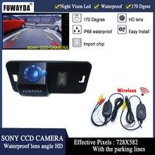FUWAYDA Wireless SONY CCD di Retrovisione di Inverso DELLA MACCHINA FOTOGRAFICA per BMW 1/3/5/6/7 Serie X5 X6 E46 E53 E70 E71 E39 E60N E61N IMPERMEABILE