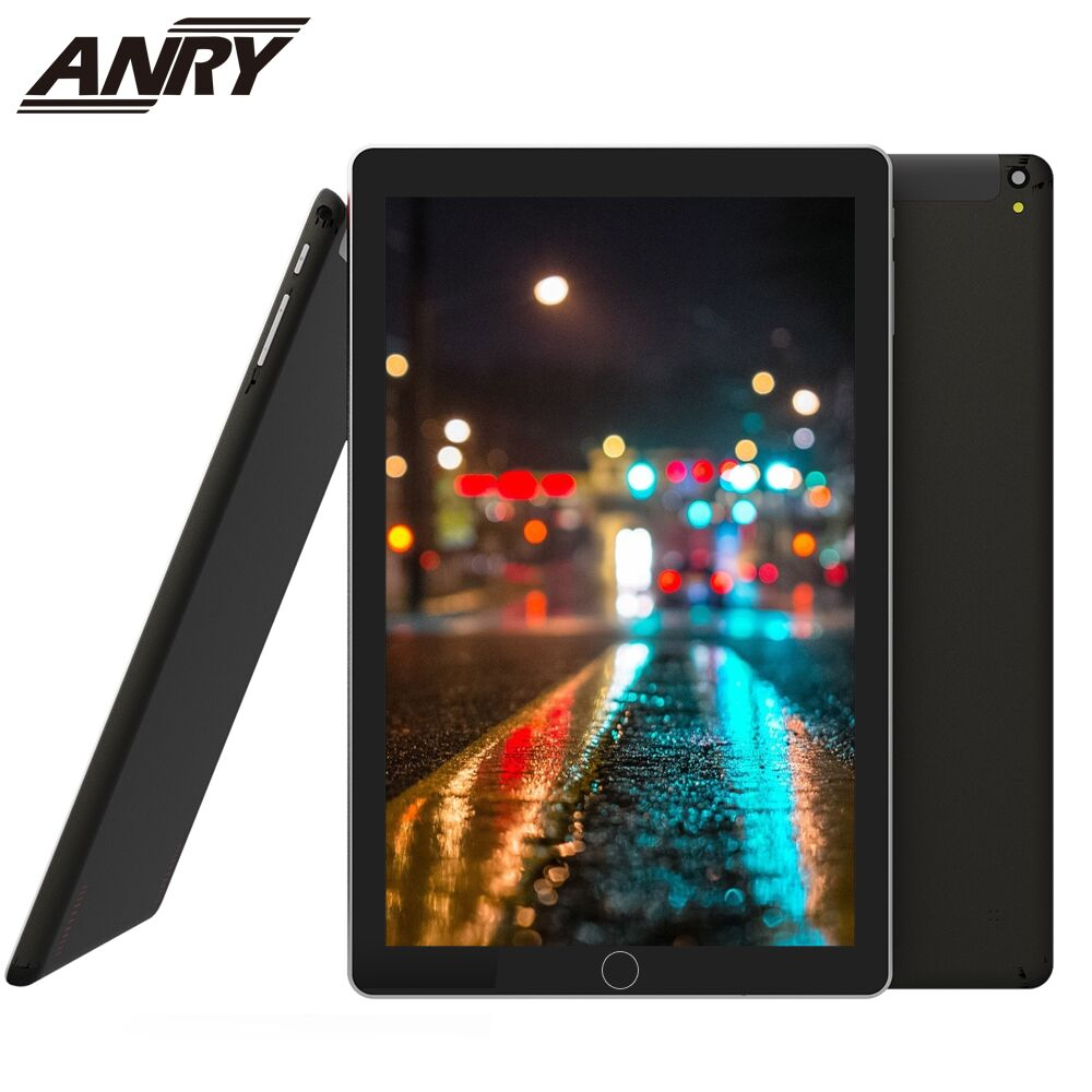 ANRY 10.1 Inch 1280*800 Tablet PC Quad Core Android 7.0 4GB RAM 32GB ROM Dual 3G Phone Tablets Wifi BluetoothMetal Case