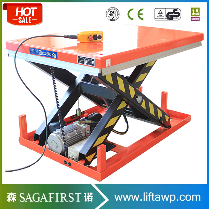 Heavy Duty Double Scissor Lift Table Scissor Lift