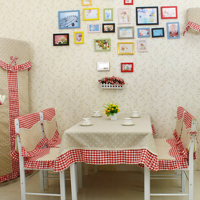 2013 dining table cloth tablecloth coffee table cloth small towel cover multi-purpose towel little daisy