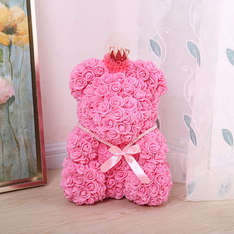 bear rose artificial flower (25)