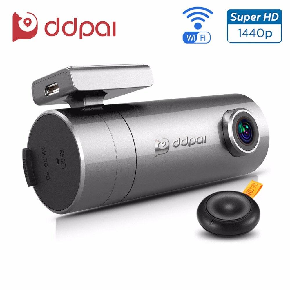 DDPai mini2 Dash Cam WiFi Car DVR 1440P Ultra HD Car Camera Rotatable Lens Recorder Wireless