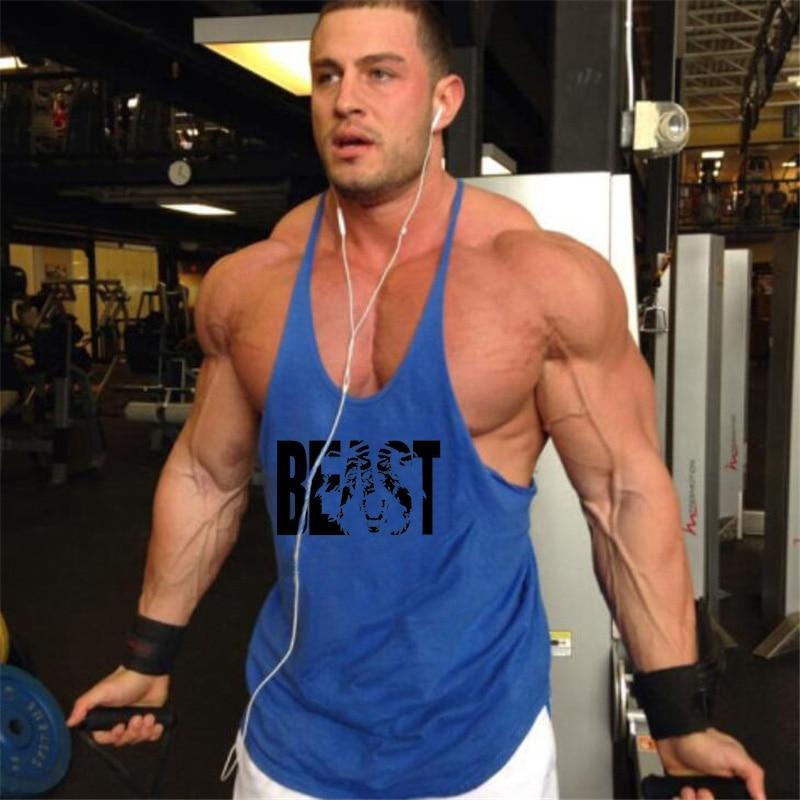 Animal Stringers Mens Tank Tops Sleeveless Shirt,Y back Bodybuilding and Fitness Men's NPC Singlets Clothes Muscle Regatas