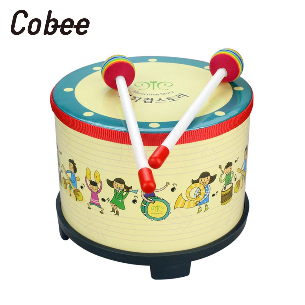 Hand Drum 2 Pcs Drumstick Tambourine Artistic Performance Korean Drum Wooden