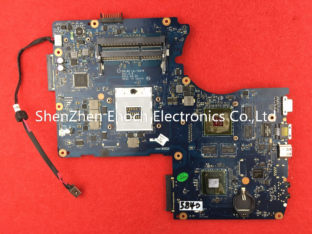 LA-7441P for ASUS K93SV X93SV X93S laptop motherboard with NVIDIA graphics mainboard HM65 store No.030