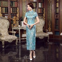 Free Shipping Ladies Long Cheongsam Qipao Traditional Chinese Dress Cheap Qipao For Sale Chinese Cheongsam Dress