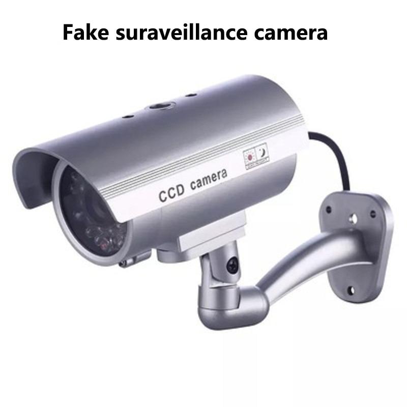 Home Security Fixed Outdoor Dummy Surveillance Camera External Decoy CCTV Camera