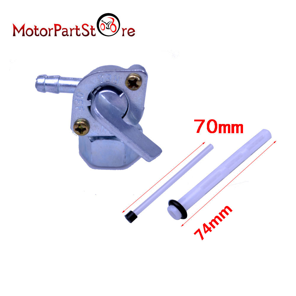 US $4.07 |Motorcycle Gas Pet Fuel Tap Valve Switch Pump For Honda XL80 on