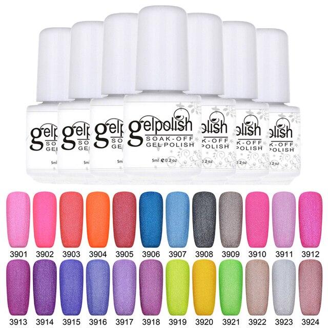 MSK mini 7 ml GelPolish vetlet 48 Color Soak Off Gel UV Led Esmalte ...