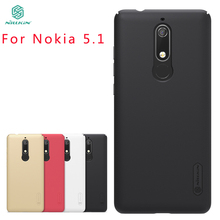 For Nokia 5.1 Case Cover NILLKIN Pc Hard High Quality Fitted Cases Super Frosted Shield