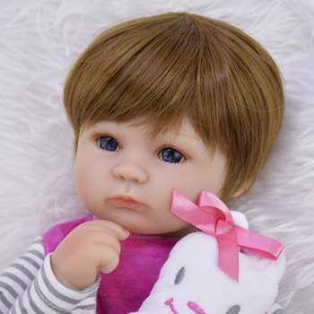 Кукла-младенец KEIUMI 17KUM6005-WIG 4