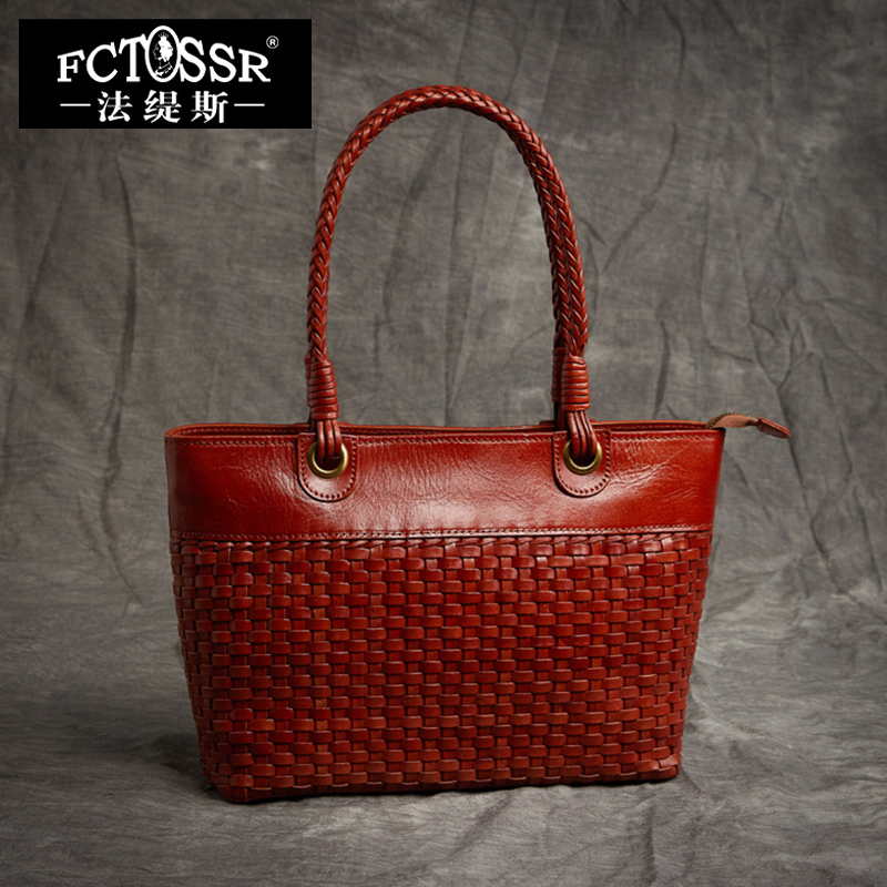 Top-handle Women's Bags Handmade Genuine Leather High Capacity Totes Woven Cow Italy Leather Handbag Lady Luxury Shoulder Bags large capacity tote lady top handle bags 2018 handmade genuine woven leather luxury shell handbags women composite bags