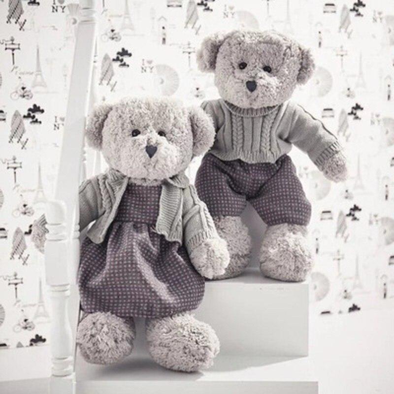 New Bear Toys Teddy Bear Lovers Play Hide And Seek Lovely Cartoon Stuffed Kids Birthday Gift 55cm Cute Bear Plush Toy