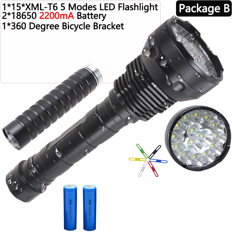 Tactical 80000Lumen 5x T6 LED Headlamp USB Rechargeable 18650 Charger USA F