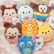 11CM new mini plush wallet small bag gift purse children girl sanrio WJ006