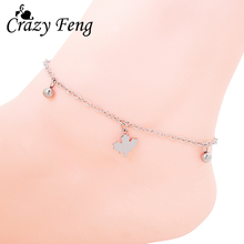 Trendy Silver Chain Maple Leaf Beads Beach Anklets Ankle Bracelet Foot Leg Chain Bracelets For Women Girl Cheap Jewelry