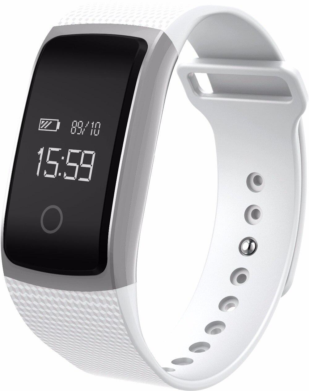 Smartch A09 Bluetooth Smart Bracelet Heart Rate Monitor Blood Pressure Oxygen Monitor IP67 Waterproof Fitness Tracker