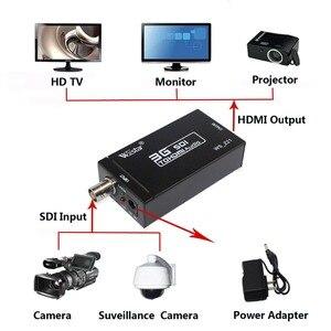 Image 5 - Wiistar SDI إلى HDMI ، 3G SDI ، HD SDI إلى HDMI UHD 1080P محول رقمي ، نقل الصوت والفيديو متزامن